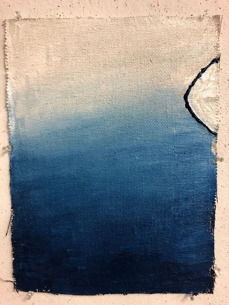 auch blau