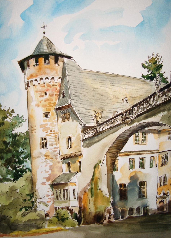 Schloß Fürsternau bei Michelstadt
