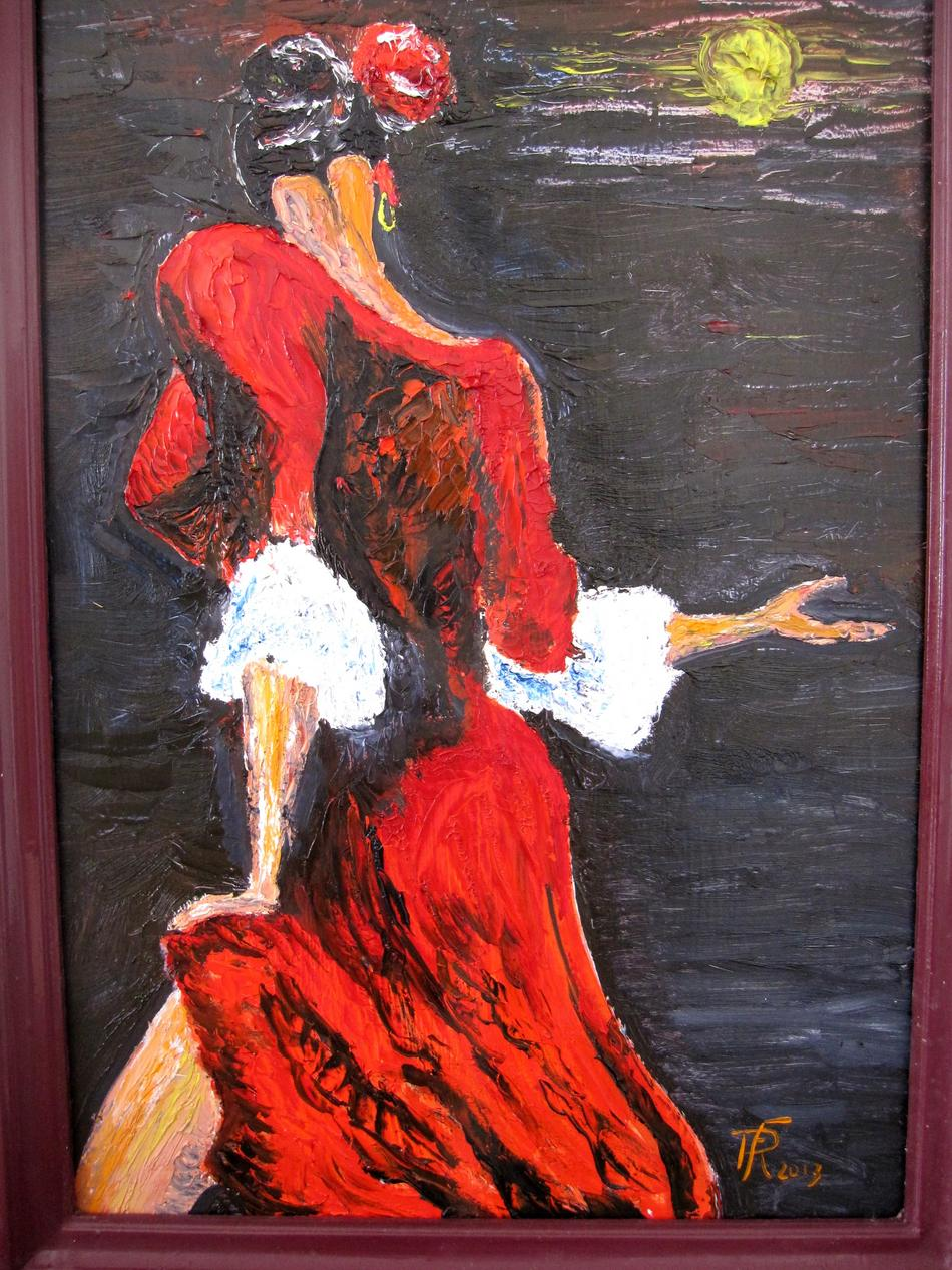 Flamenco  (gespachtelt)