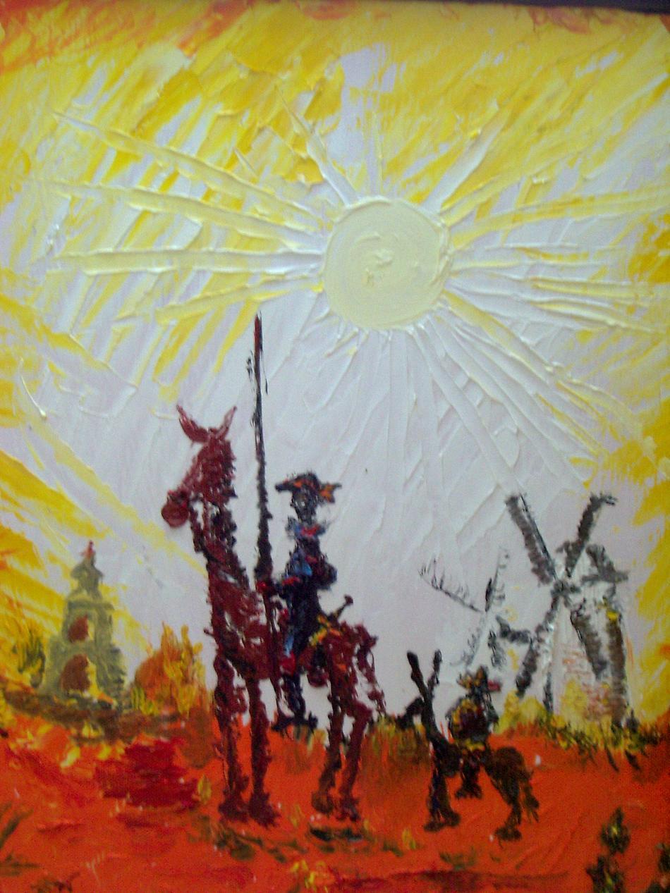 Don Quijote 2 (gespachtelt)