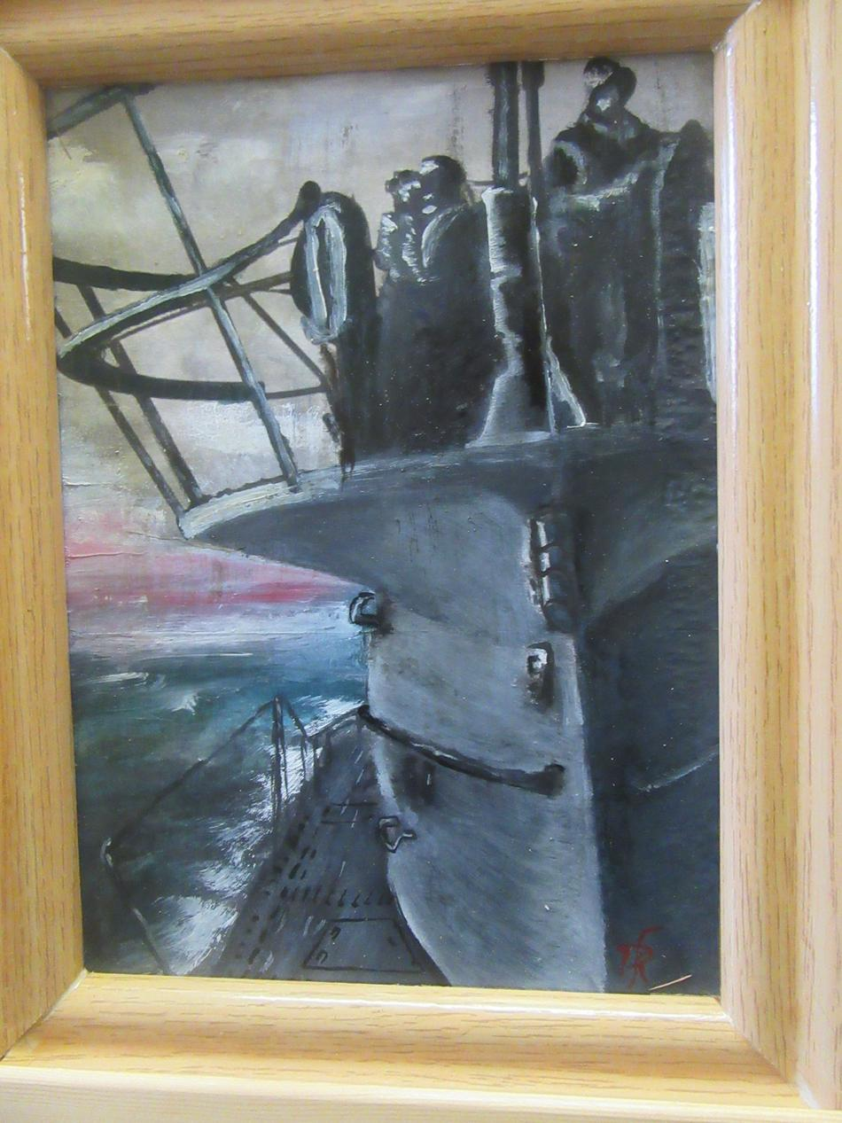 U-Boot Fahrt
