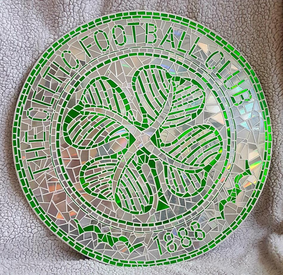Celtic Football Mosaik