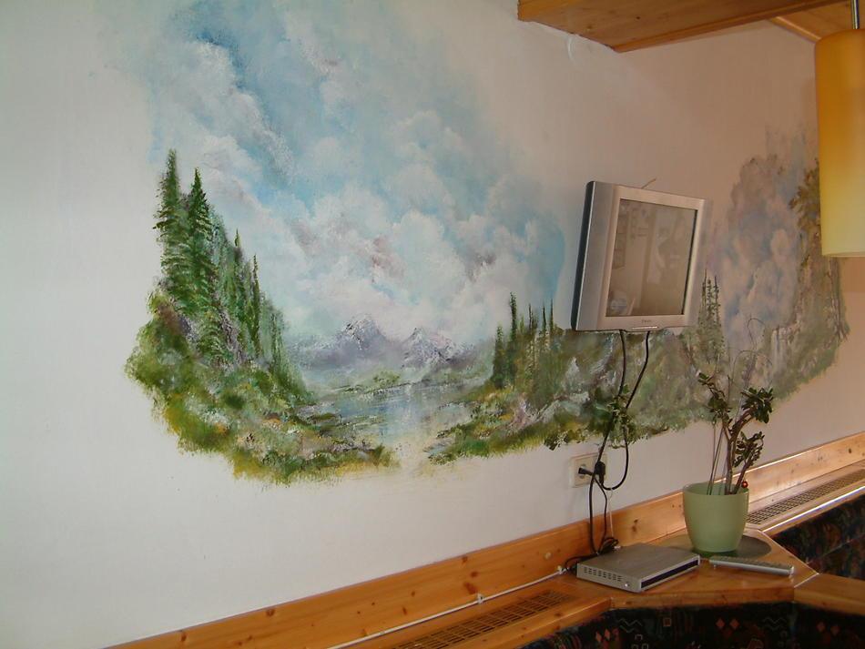 Gaststätten  Wandmalerei