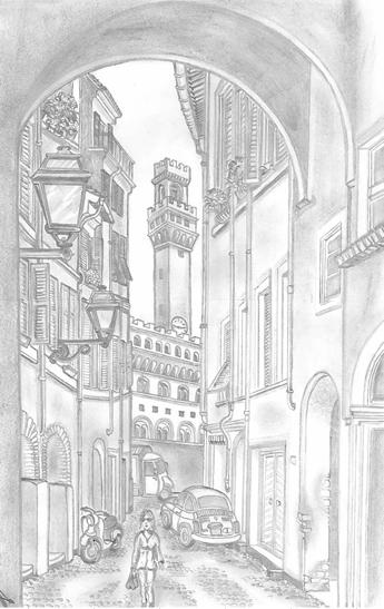 Stadt in der Toscana