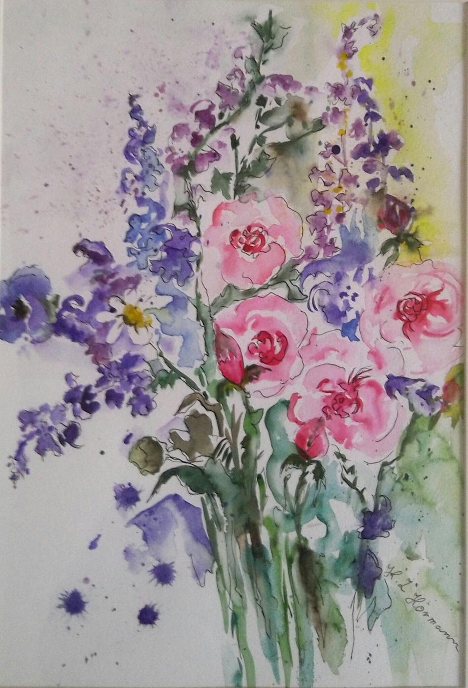 Frühling Blumenstrauß