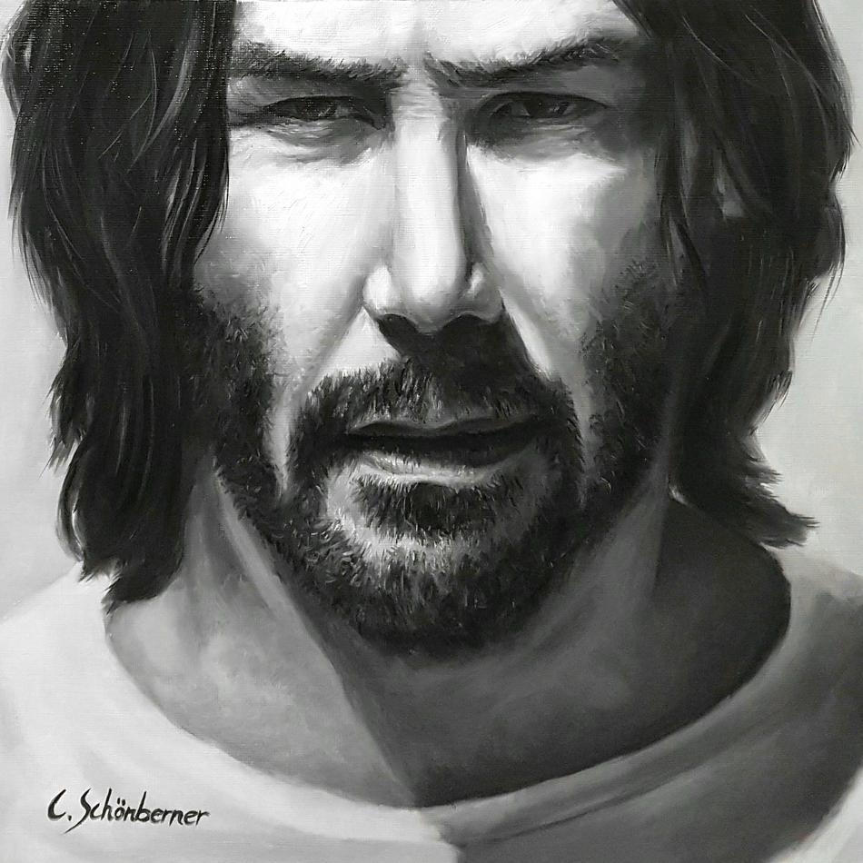 Portrait von Keanu Reeves