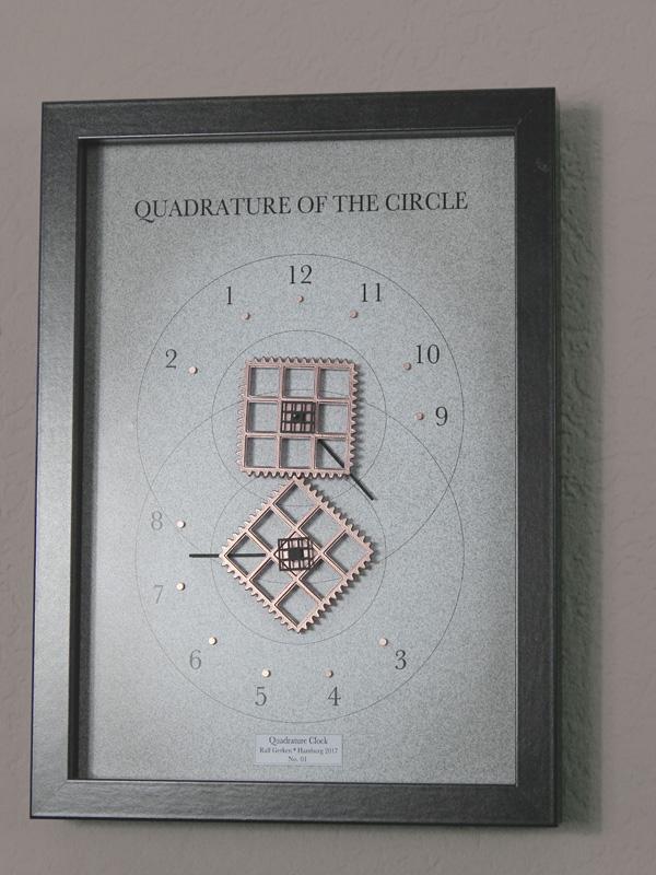 Quadratur Clock