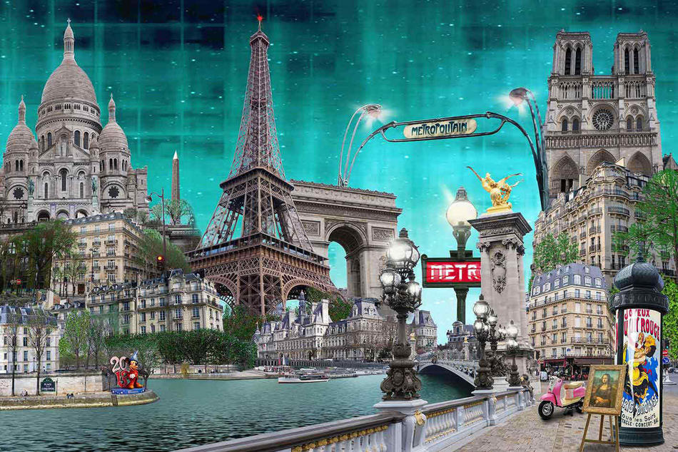 Paris-Collage