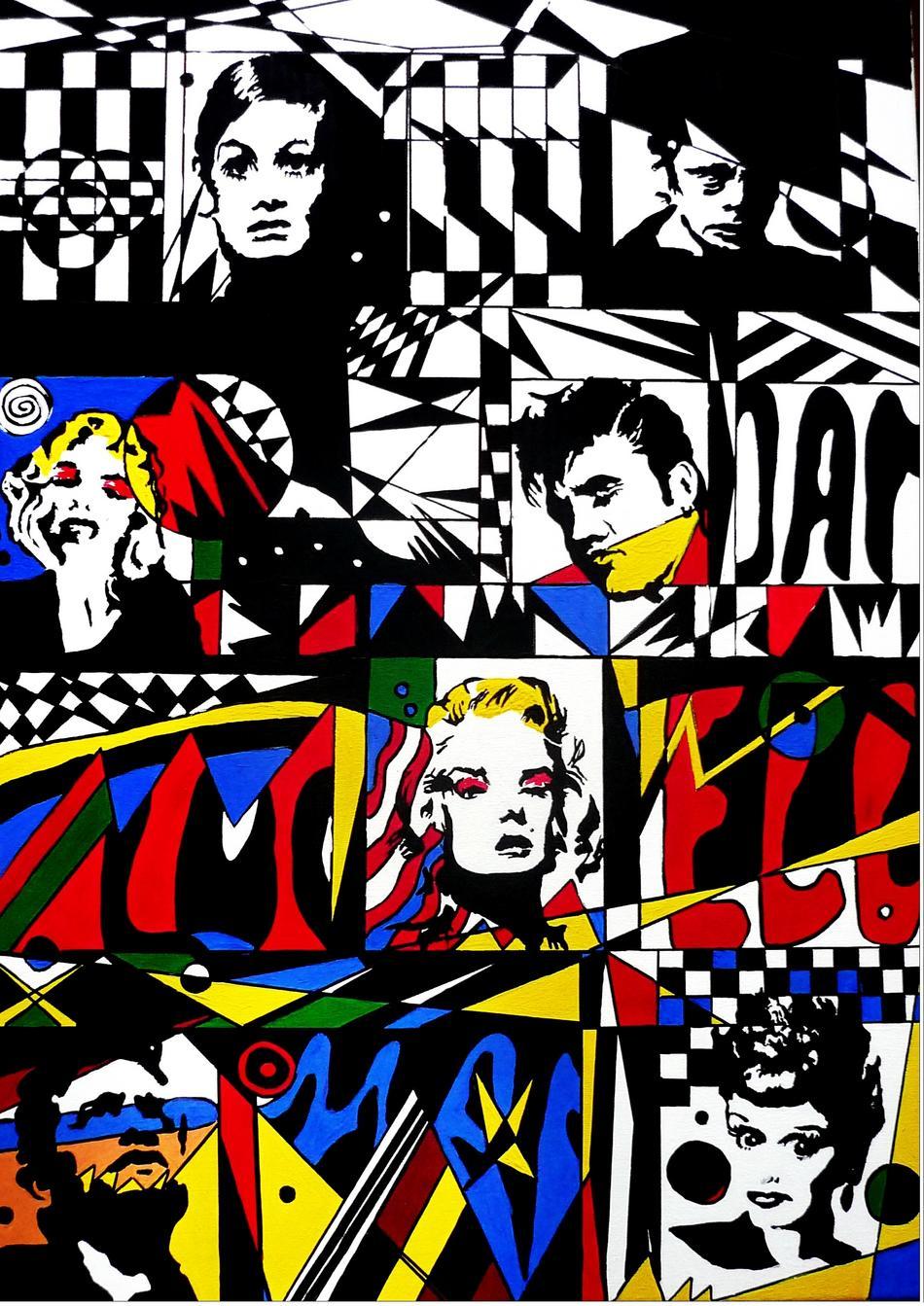 Vintage meets Pop Art II