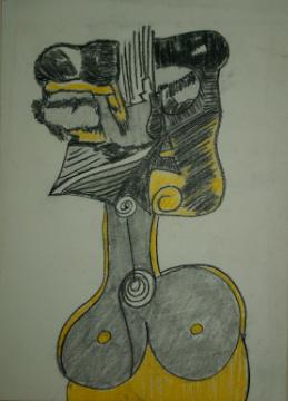 Die gelbe Dame