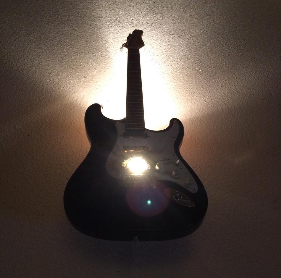 E-Gittare Deckenlampe / Custom
