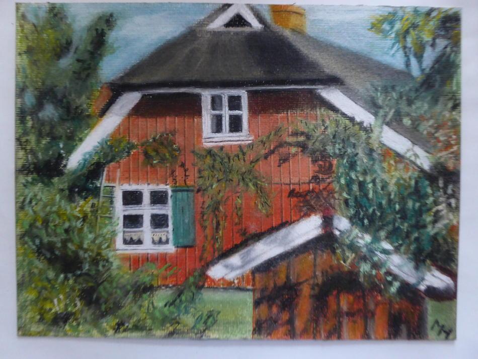 Haus auf dem Darß