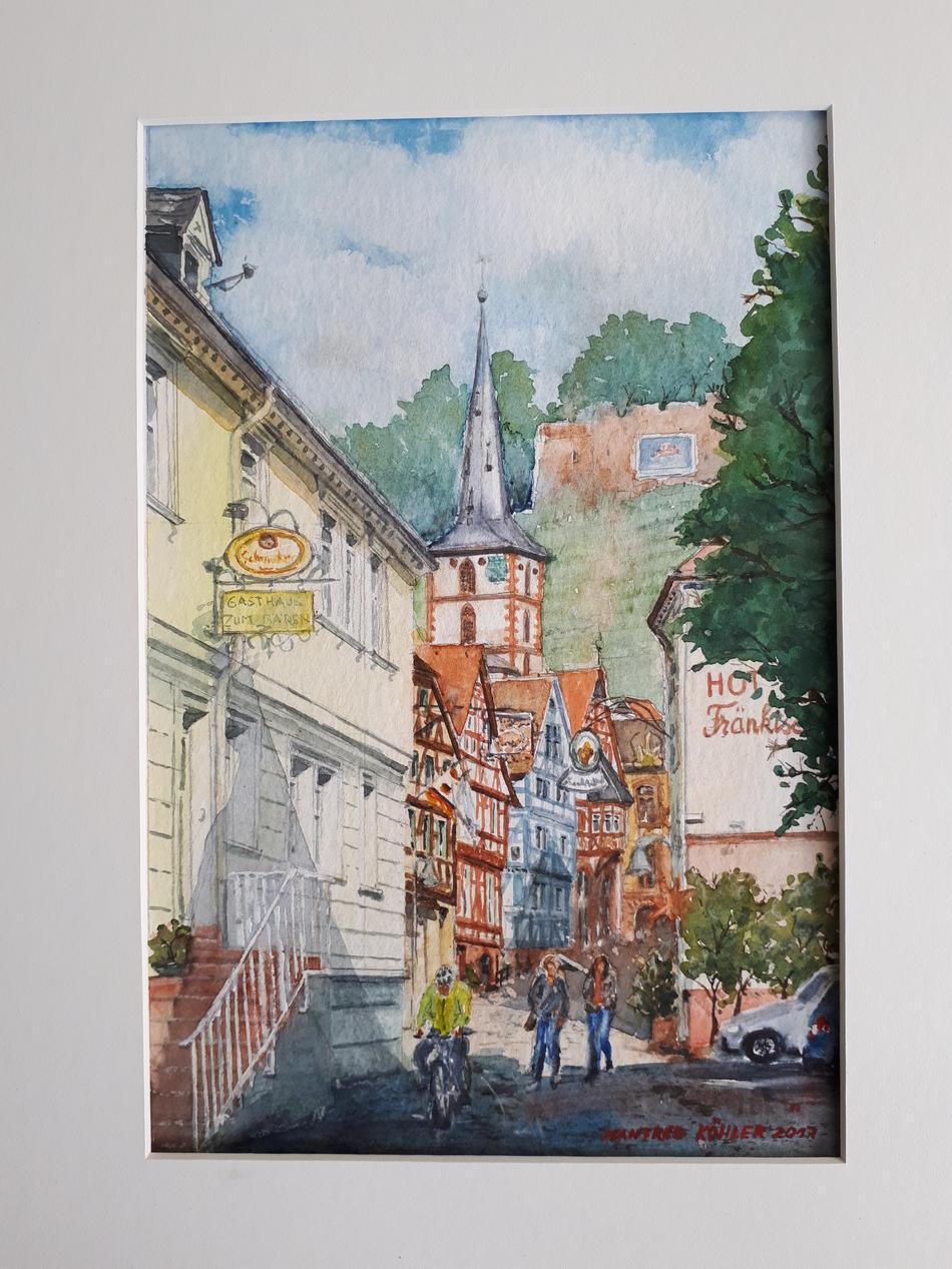 Klingenberg Altstadt mit Kirche