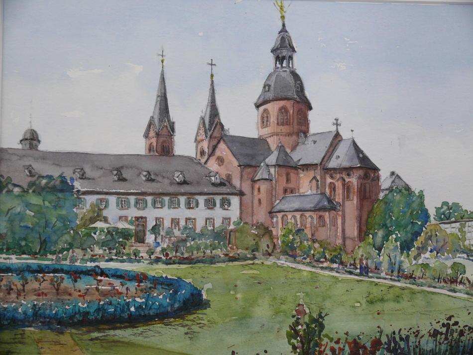 Klostergarten und Basilika Seligenstadt