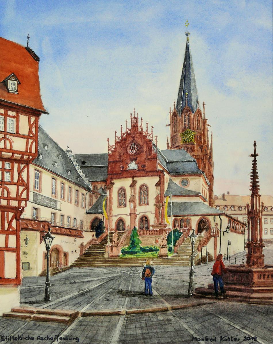 Stiftskirche Aschaffenburg