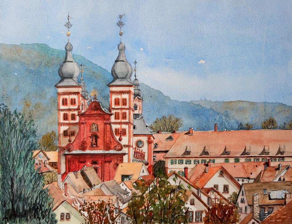 Amorbach - Abteikirche