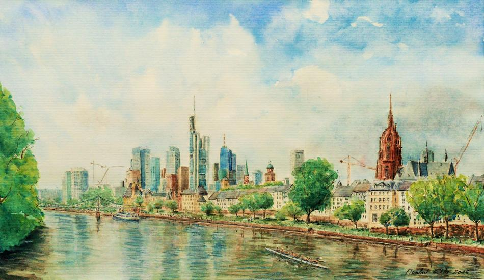 Frankfurt Stadtansicht