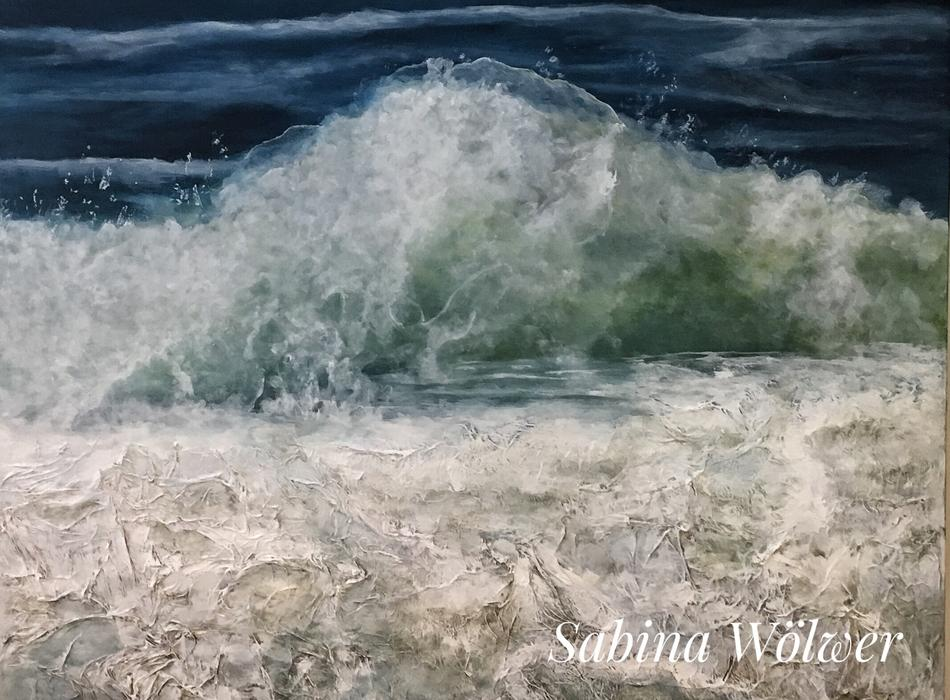 Wellen von Sylt