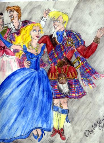 EIn schottischer Reel