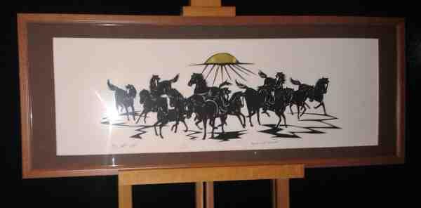 Pferde im Licht