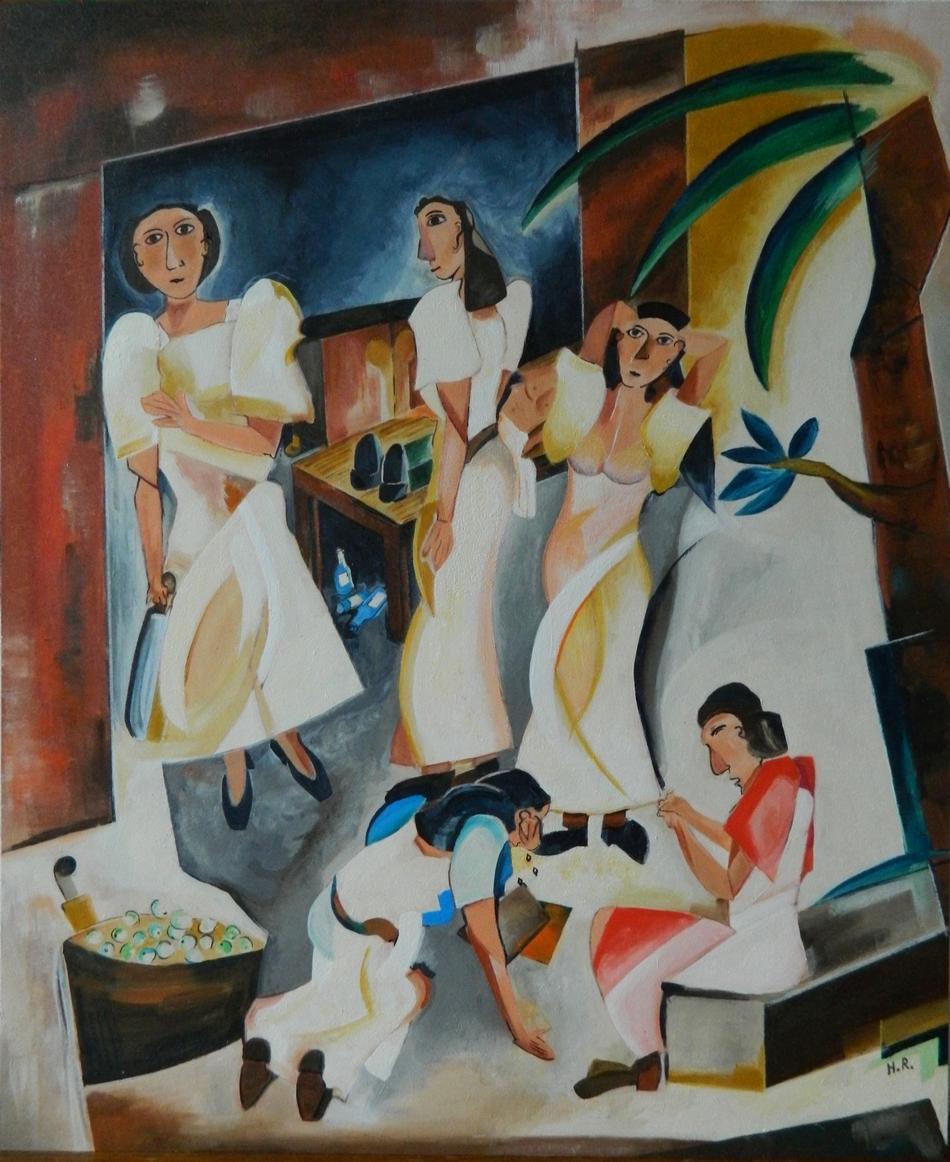 Filipiniana - ano ang gagawin natin? (Was sollen wir tun?)