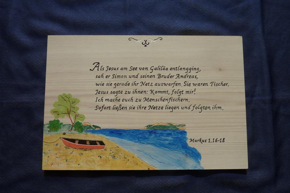 Menschenfischer, Markus 1,16-18