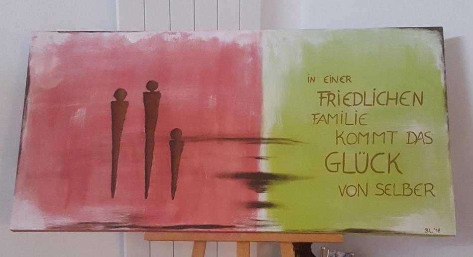 Familie und Glück