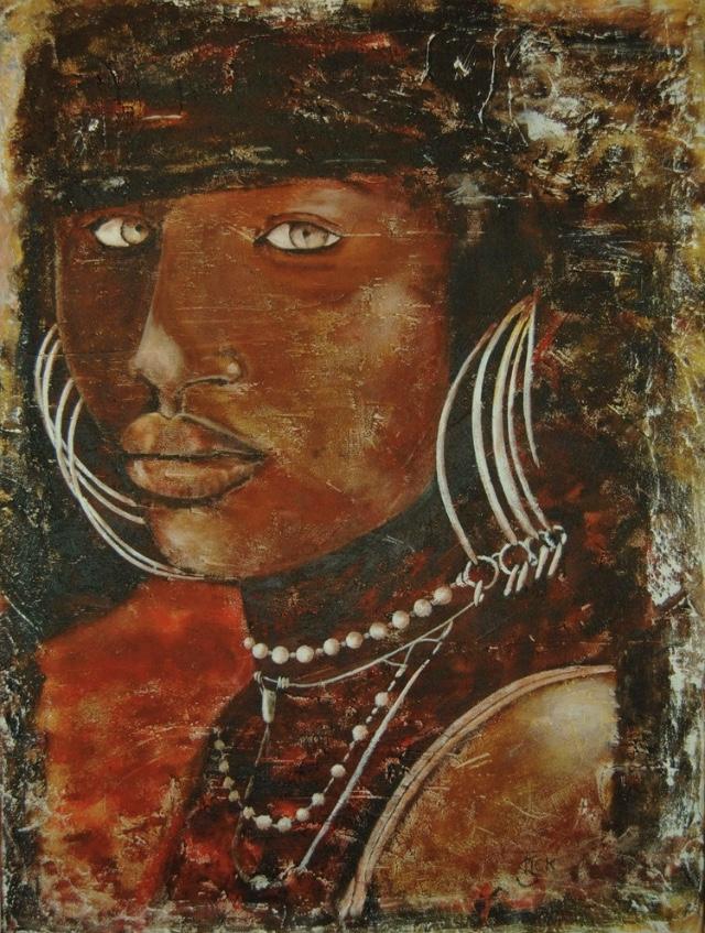 african girl