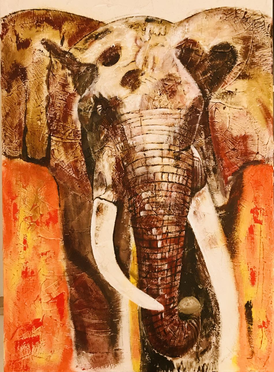 peaceful elephant