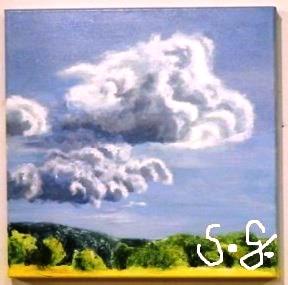 Himmel und Erde, Die Wolke