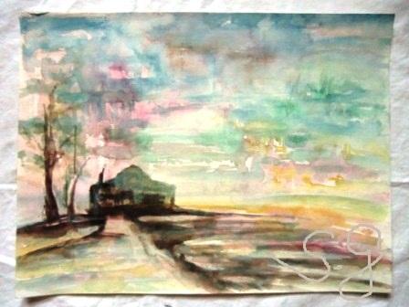 imaginäre Landschaft