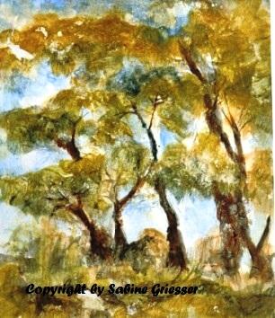 imaginäre Bäume, Mischtechnik