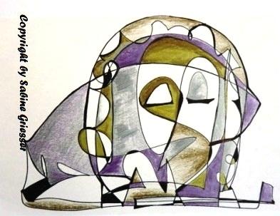 spontane Zeichnung, experimentell
