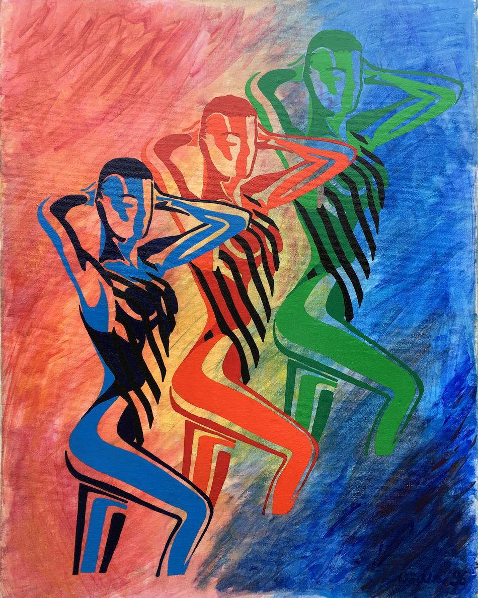 Drei Physiotherapeutinnen