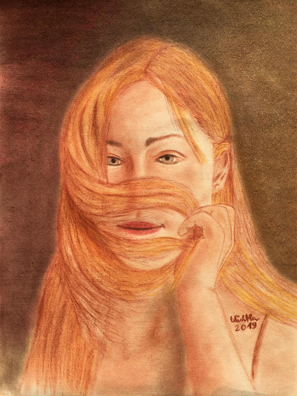 Porträt von Teenager