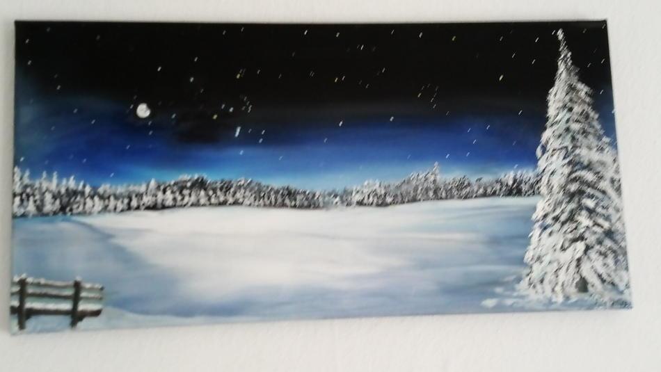 Winter-Nacht-Ruh