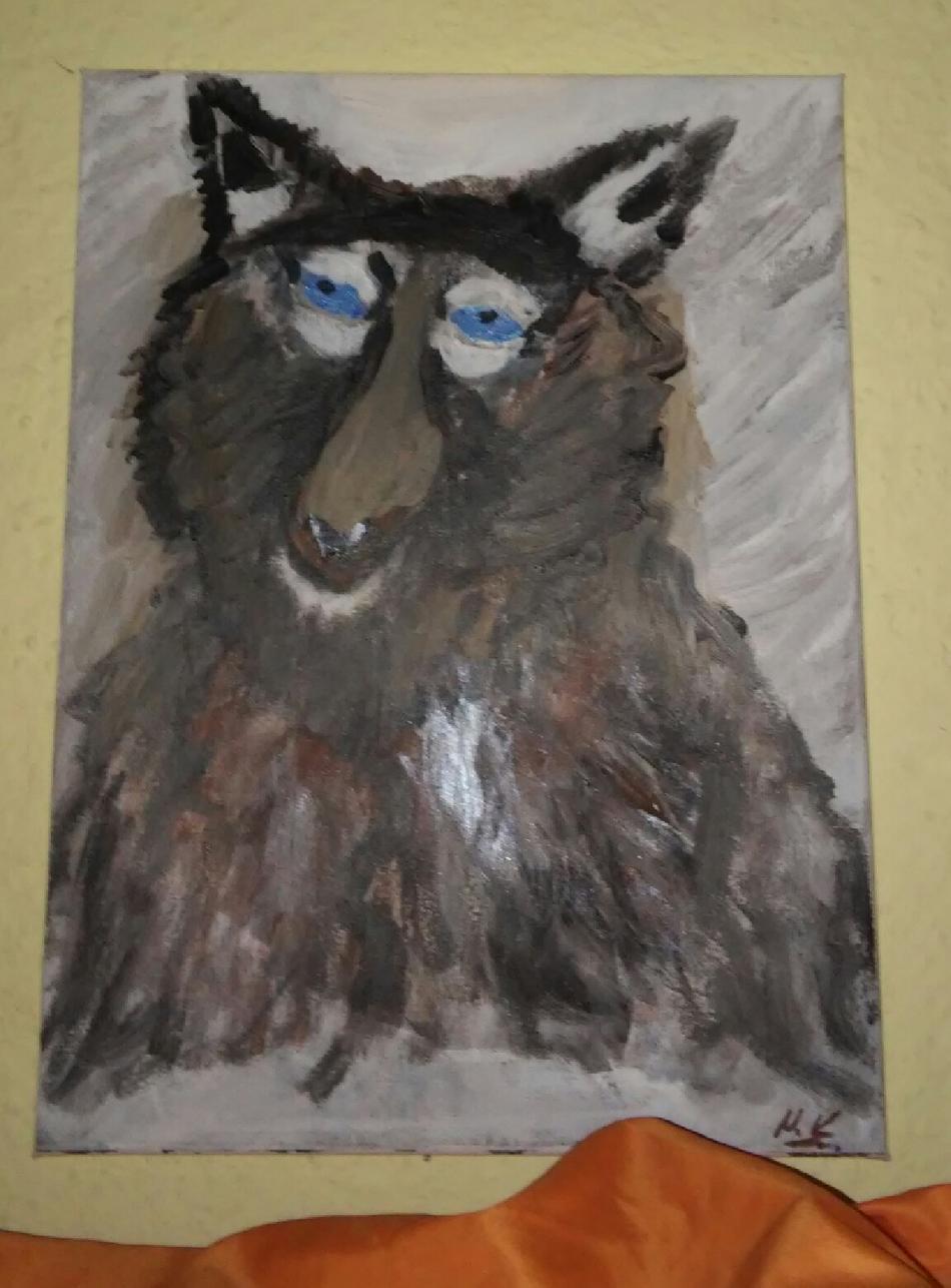Ich sollte ein Wolf sein ! Bin jetzt ein Paolo geworden .;-)