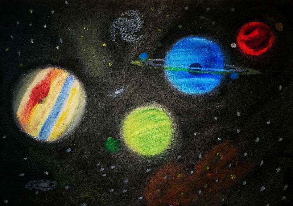 Galaktischer Tanz