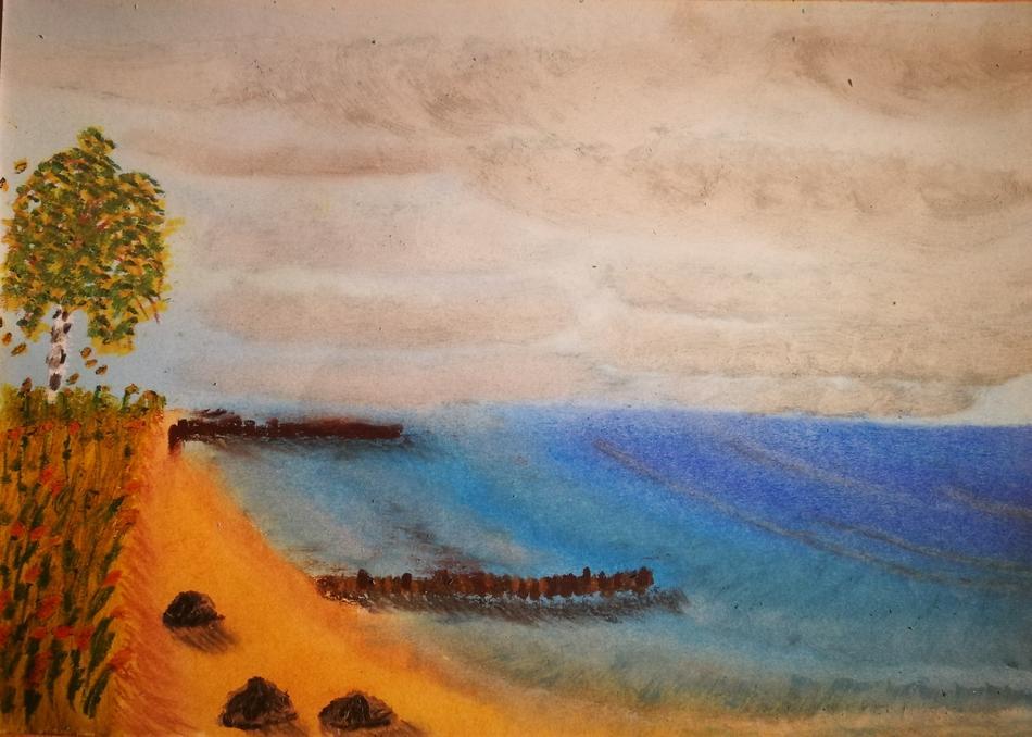 Herbstlicher Ostsee-Strand