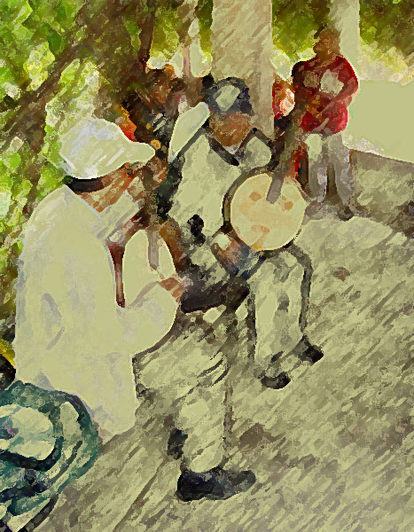 Banjospieler