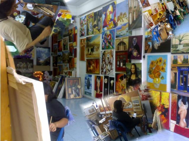Atelier für großformatige Unikate