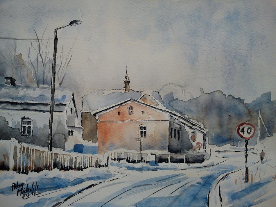 polnischen Winter