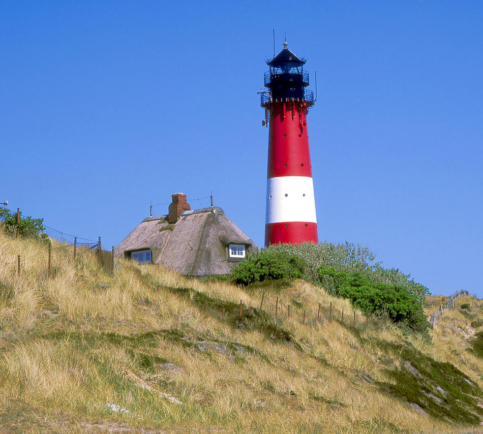 Leuchtturm Indel Sylt