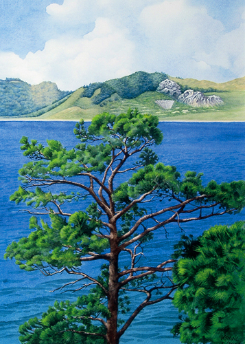 Anatolische Küstenlandschaft