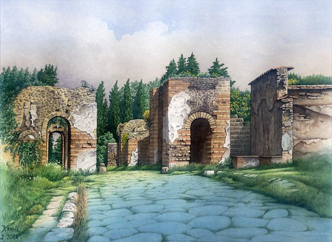Stadttor Pompeji