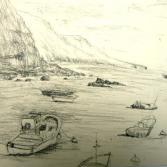 Bleistiftzeichnung La Gomera