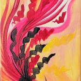 Gelb Rosa Pink
