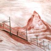 Gornergratbahn am Matterhorn