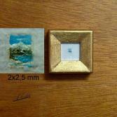 Landschaft - Miniatur 2,0x2,5 mm