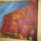 Herbstlicht am Ahr-Rotwein-Wanderweg